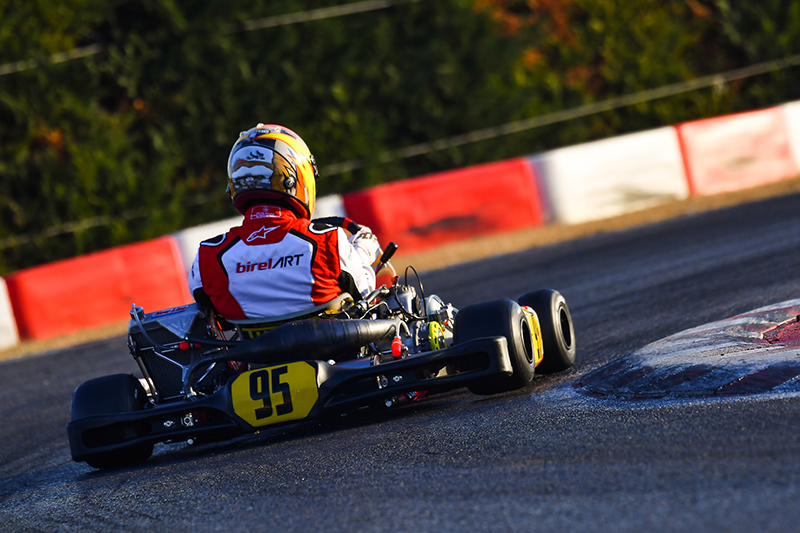 Alex Irlando's season gets underway in Lonato for the 24th Winter Cup