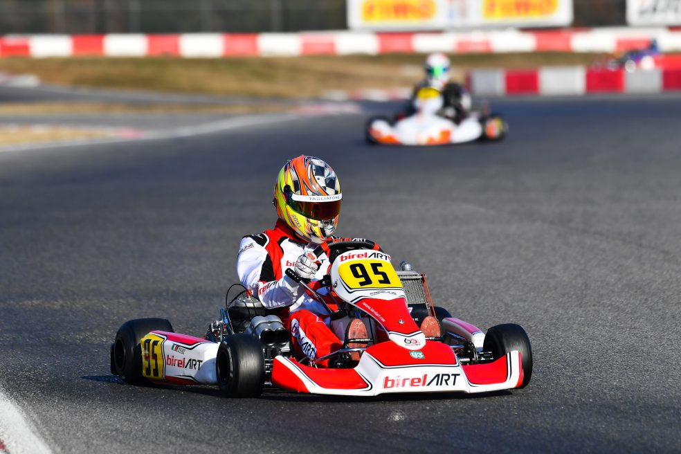 Alex Irlando starts the CIK-FIA season