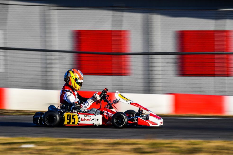 Troubled final in Sarno for Alex Irlando