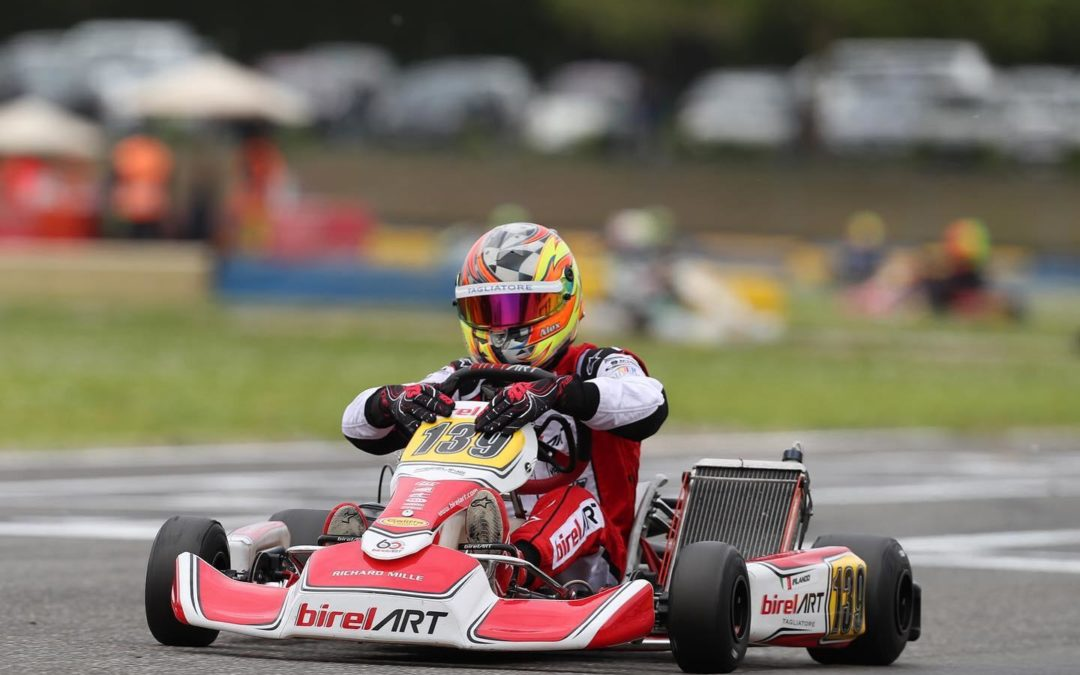 Alex Irlando dominates in Castelletto