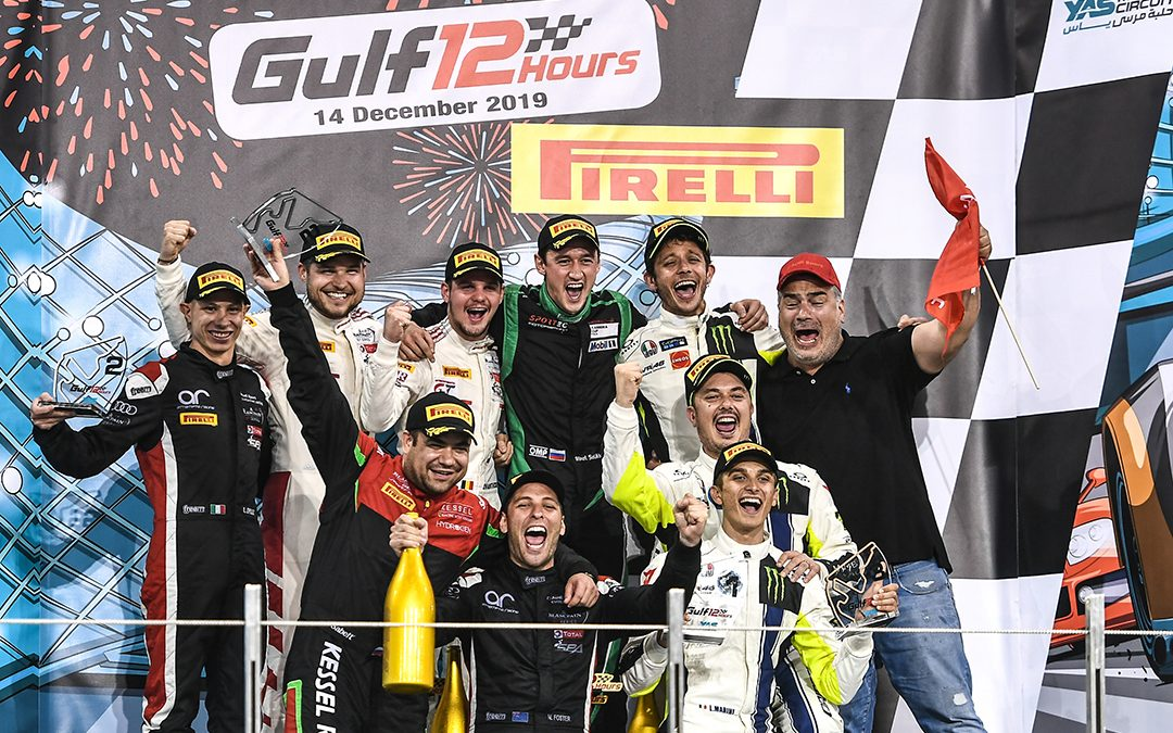 Maiden victory for Audi at Gulf 12 Hours in Abu Dhabi
