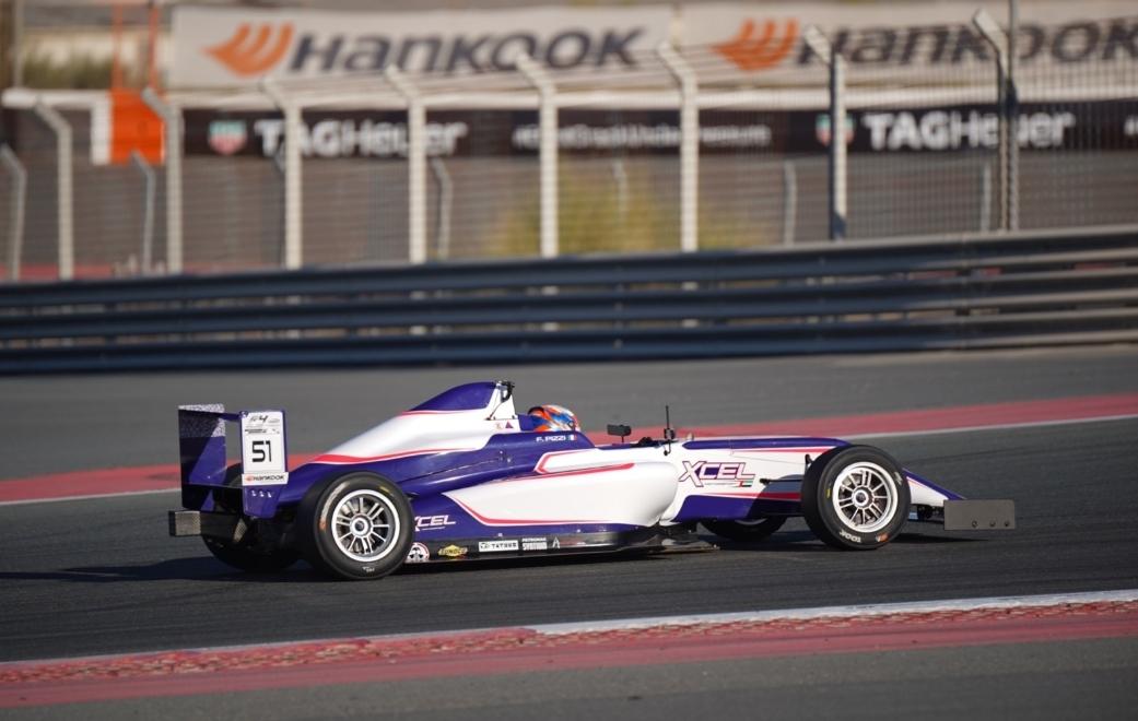 Francesco Pizzi returns in Dubai for F4UAE round 4