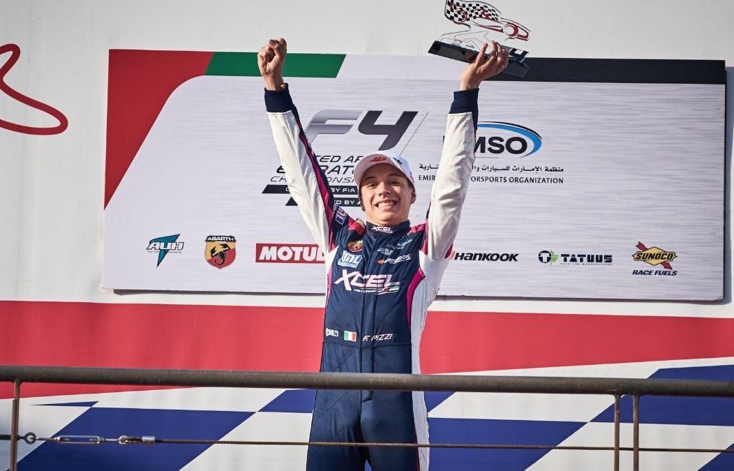Francesco Pizzi strikes again in Dubai: 2 wins out of 4 races!