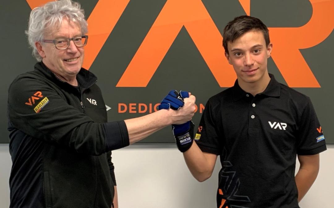 Francesco Pizzi joins Van Amersfoort Racing for 2020