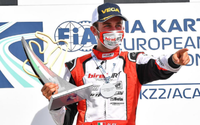 Alex Irlando grabs the first victory of the season at Adria