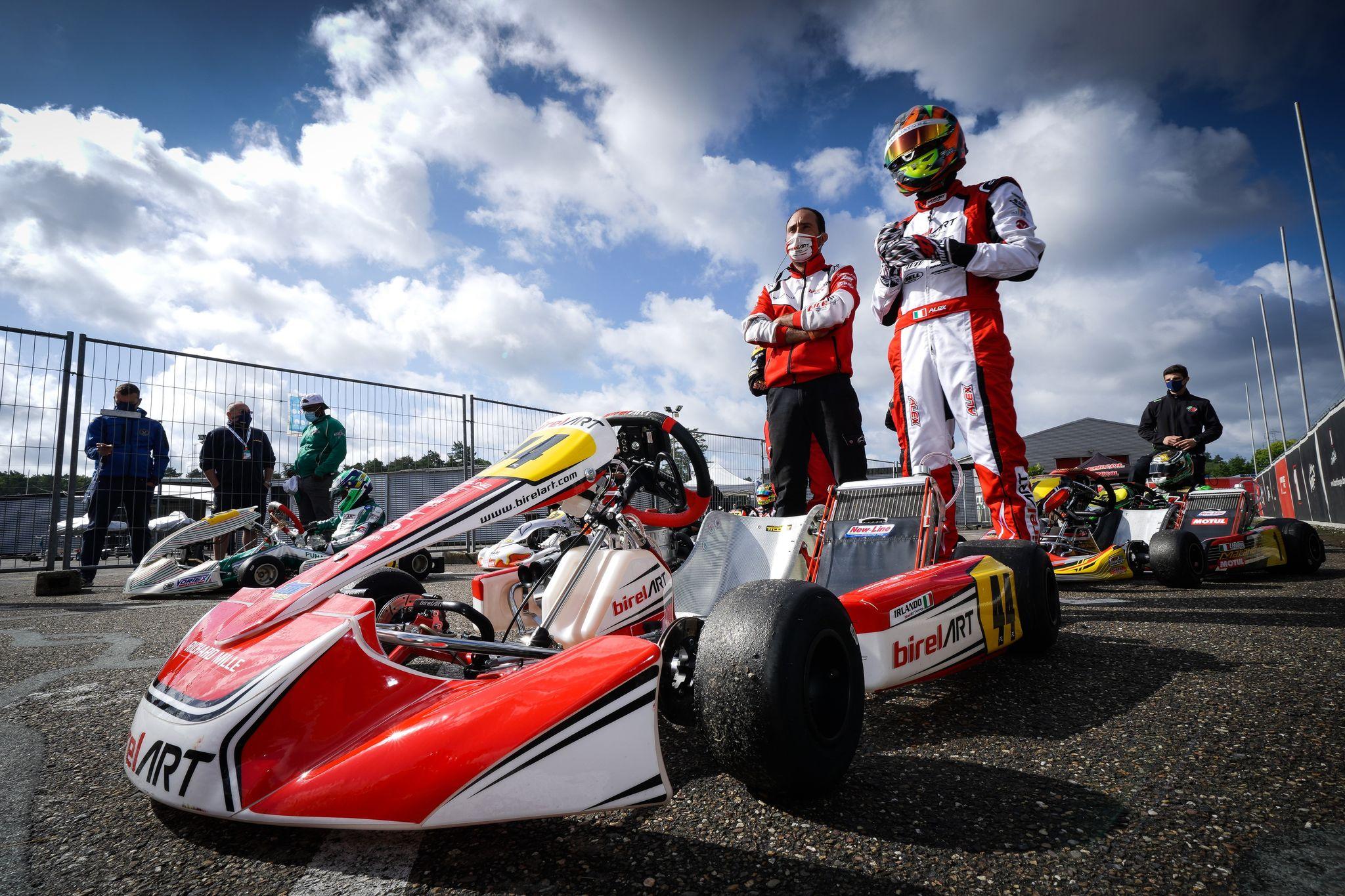 Alex Irlando a breath away from winning the European title