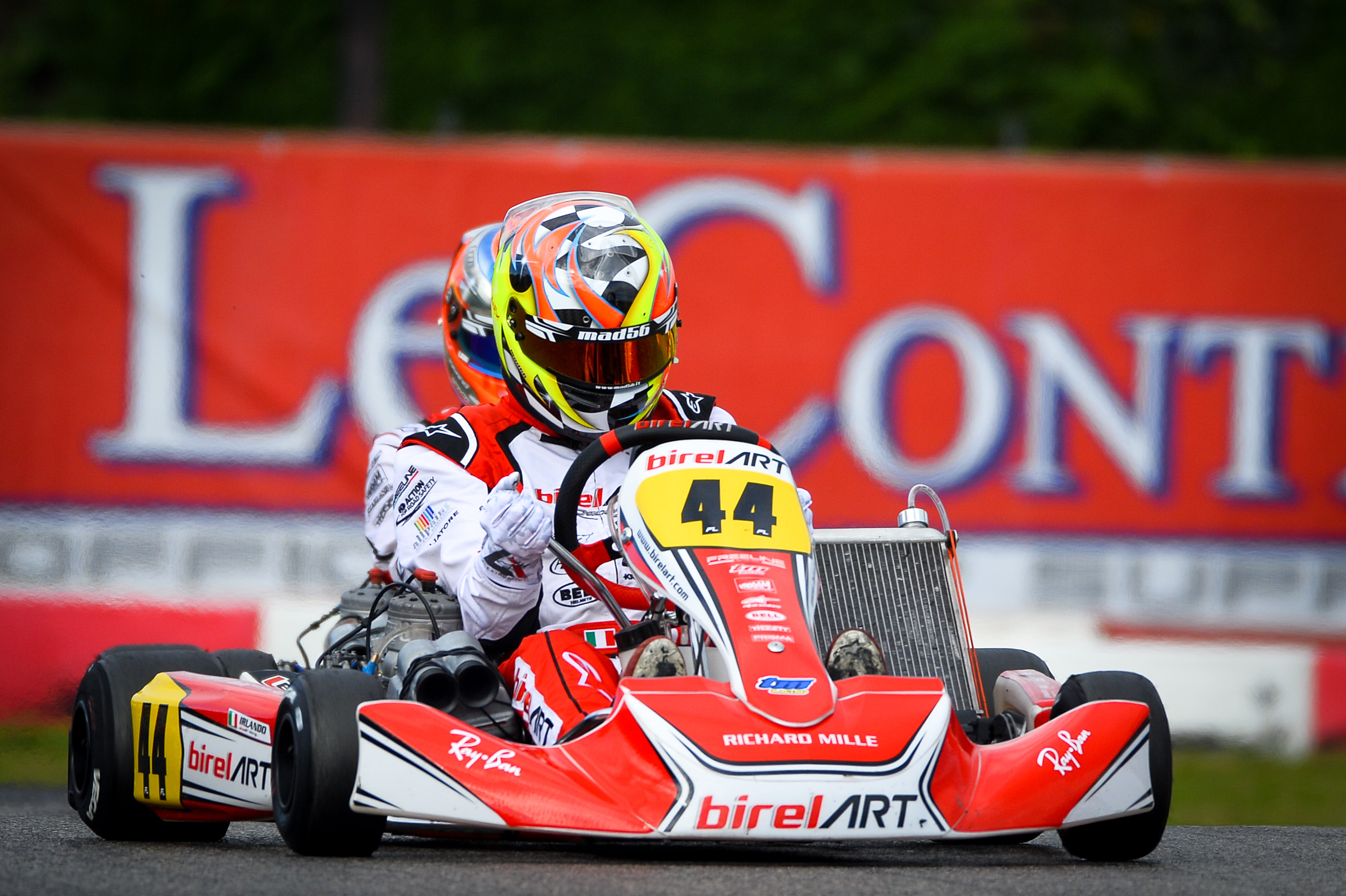 Top ten for Alex Irlando at KZ World Cup