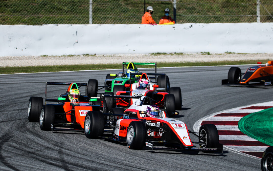 Léna Bühler ends her season in Spanish F4 with a fifth place in Barcelona
