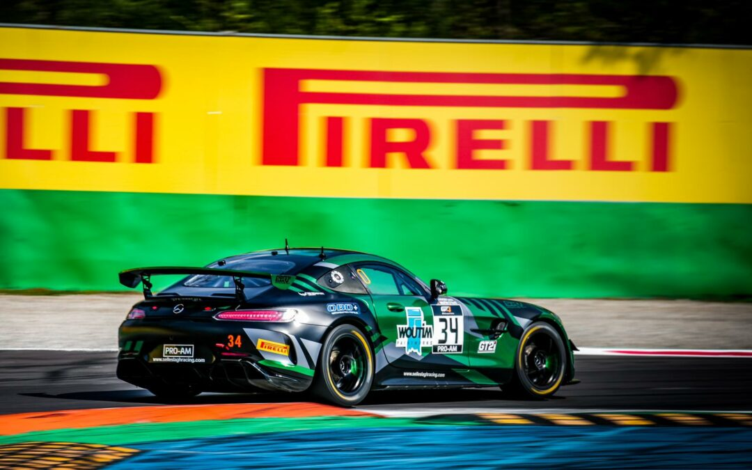 Luca Bosco proved to be competitive in the first GT4 Series race at Monza!