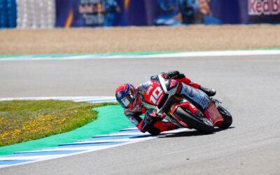 Marcon porta a termine il weekend del Gp di Spagna a Jerez