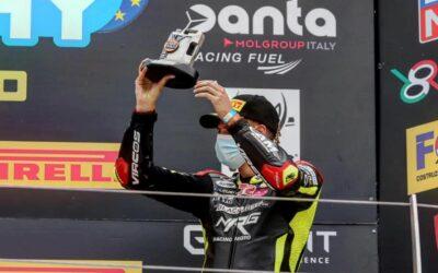 Alessio Finello chiude il secondo round della stagione sul podio di Misano